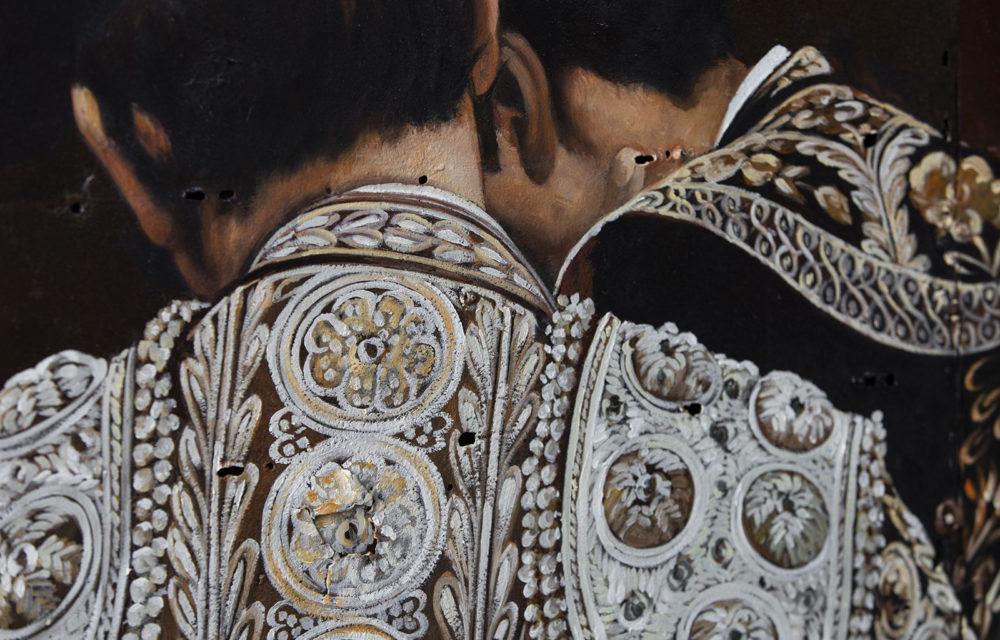 Peinture sur métal Torero